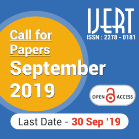 Call for Papers September – 2019 – IJERT